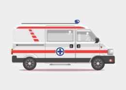 Ambulancias, transporte escolar hasta 9 plazas (incluido conductor)