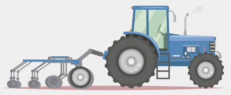 Vehículos agrícolas (excepto motocultores)